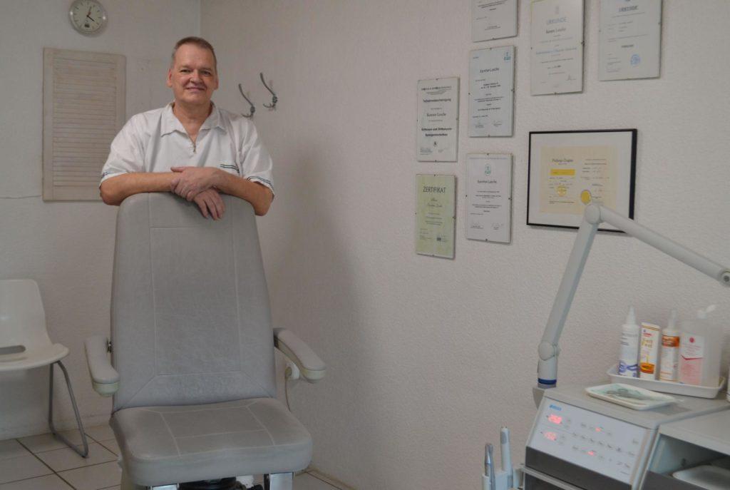 Bild vom Behandlungsraum